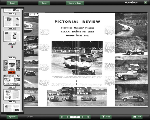 motorsport digital archive